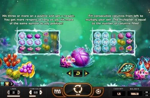 Правила игры в аппарате Fruitoids