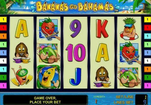 Игровые автоматы на деньги с выводом Bananas go Bahamas