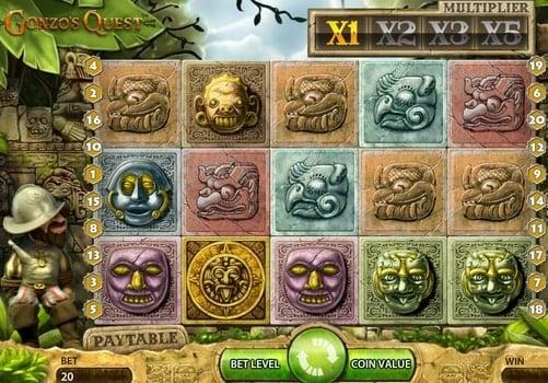 Игровые автоматы Gonzo`s Quest с быстрым выводом денег