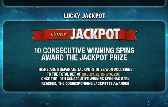 Джекпот в игровом аппарате Streak of Luck