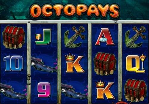 Призовая комбинация в игровом автомате Octopays