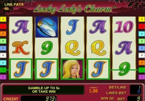 Играть в автомат Lucky Lady`s Charm с выводом денег