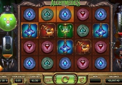 Игровые автоматы на реальные деньги с выводом - Alchymedes