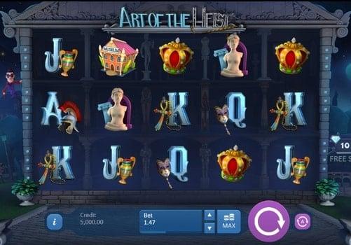 Игровые автоматы на реальные деньги с выводом - Art of the Heist