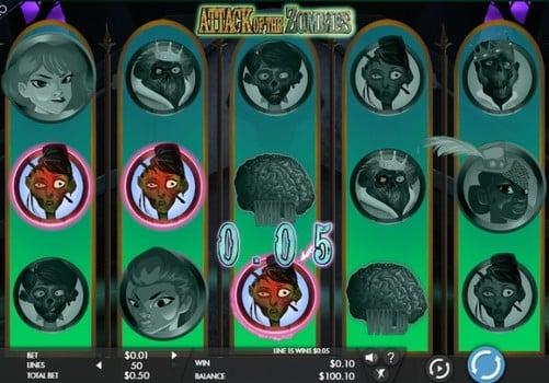 Игровые автоматы на реальные деньги с выводом - Attack of the Zombies