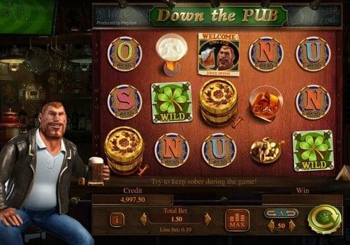 Игровые автоматы на реальные деньги с выводом - Down the Pub