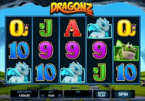 Игровые автоматы на реальные деньги с выводом - Dragonz