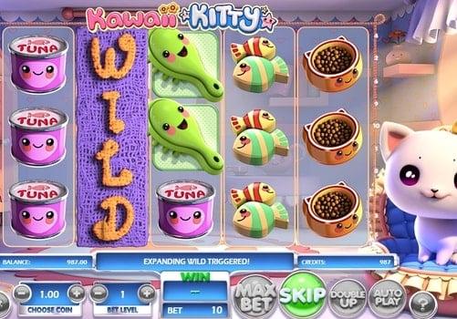 Игровые автоматы на реальные деньги с выводом - Kawaii Kitty