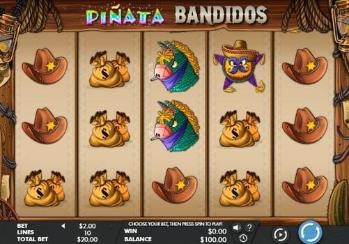 Игровые автоматы на реальные деньги с выводом — Pinata Bandidos