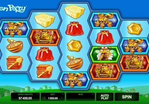 Игровые автоматы на реальные деньги с выводом - Pollen Party