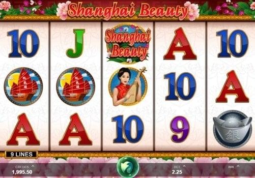 Символы игрового автомата Shanghai Beauty