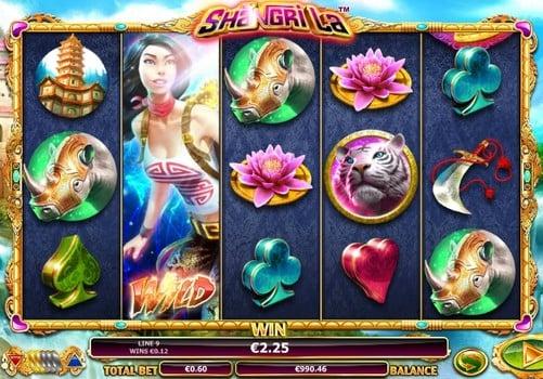 Игровые автоматы на реальные деньги с выводом - Shangri La