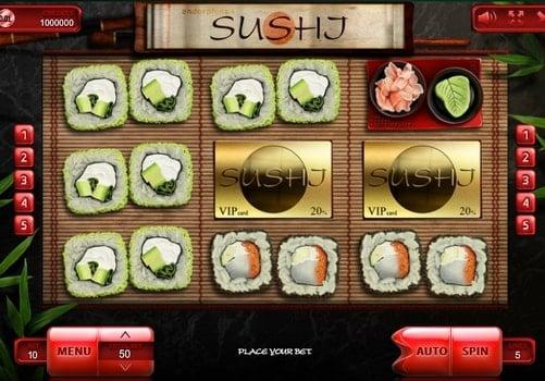 Игровые автоматы на реальные деньги с выводом - Sushi