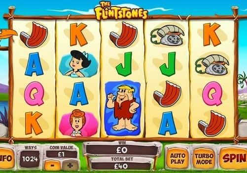 Игровые автоматы на реальные деньги с выводом - The Flintstones