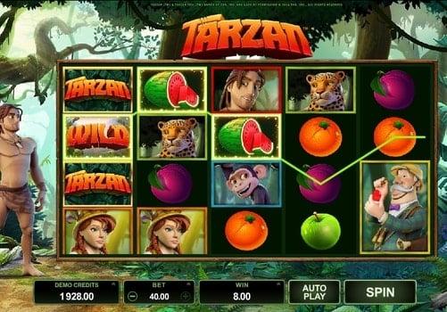 Игровые автоматы онлайн с выводом денег - Tarzan