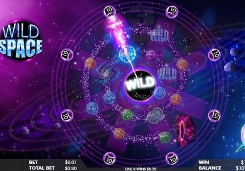 Игровые автоматы онлайн с выводом денег - Wild Space