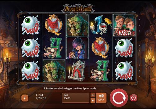Игровые автоматы с выводом денег — Dracula's Family