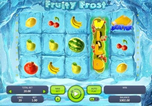 Игровые автоматы с выводом денег — Fruity Frost