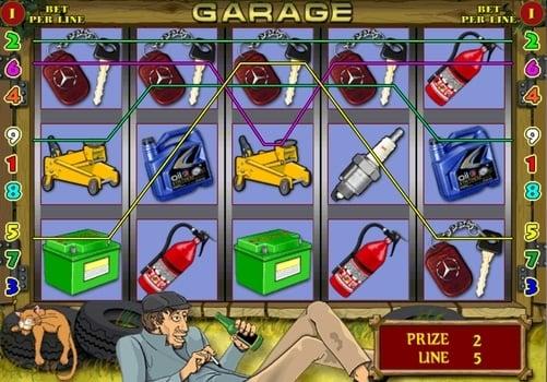 Игровые автоматы гаражи