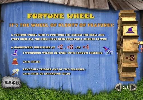 Бонусная функция в онлайн слоте Fortune Hill