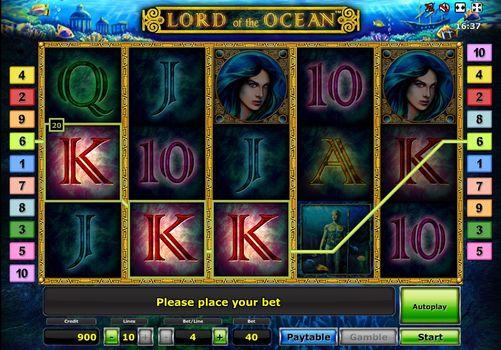 Игровые автоматы с выводом реальных денег Lord of The Ocean