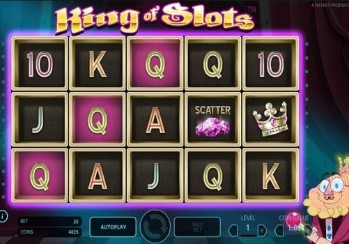 Игровой автомат King of Slots онлайн с выводом денег